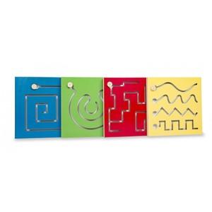 Painéis Psicomotores - Kit com 4