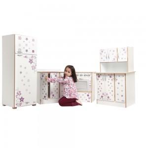 Móveis Para Creche - Kit Cozinha