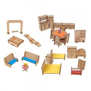 Mobiliário Com 25 Peças