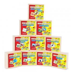 Memória Kit Com 10 Jogos
