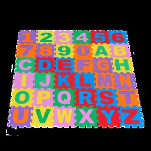 Tapete Alfanumérico