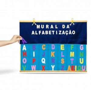Painel Mural da Alfabetização