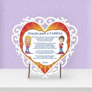Quadro Oração da Família