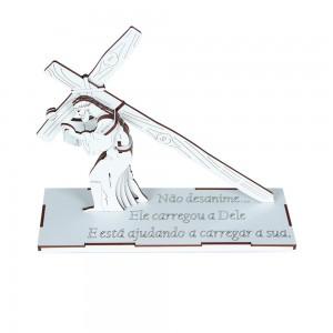 Quebra-cabeça 3D Jesus carregando a cruz