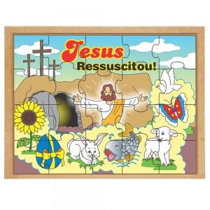 Quebra-cabeça - Jesus Ressuscitou