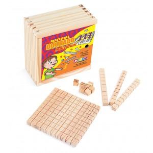 Material dourado individual 111 peças