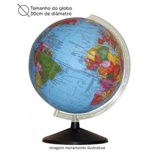 Globo Mapa Mundi Político - 30cm