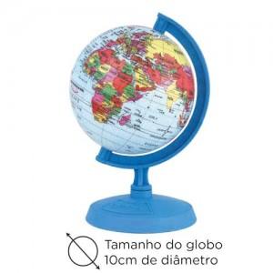 Globo Mapa Mundi Mini Baby - 10cm